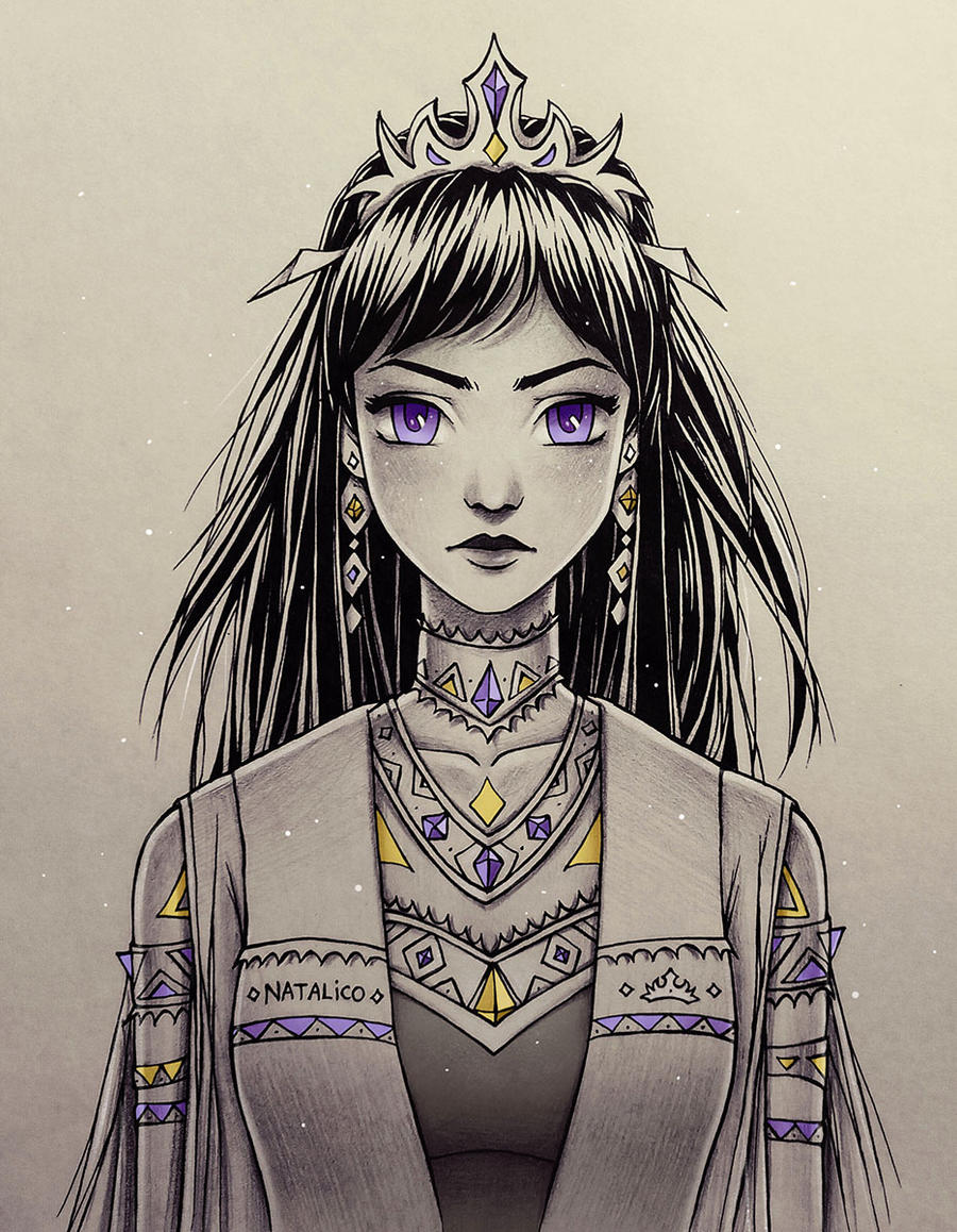 The new Queen by natalico on DeviantArt