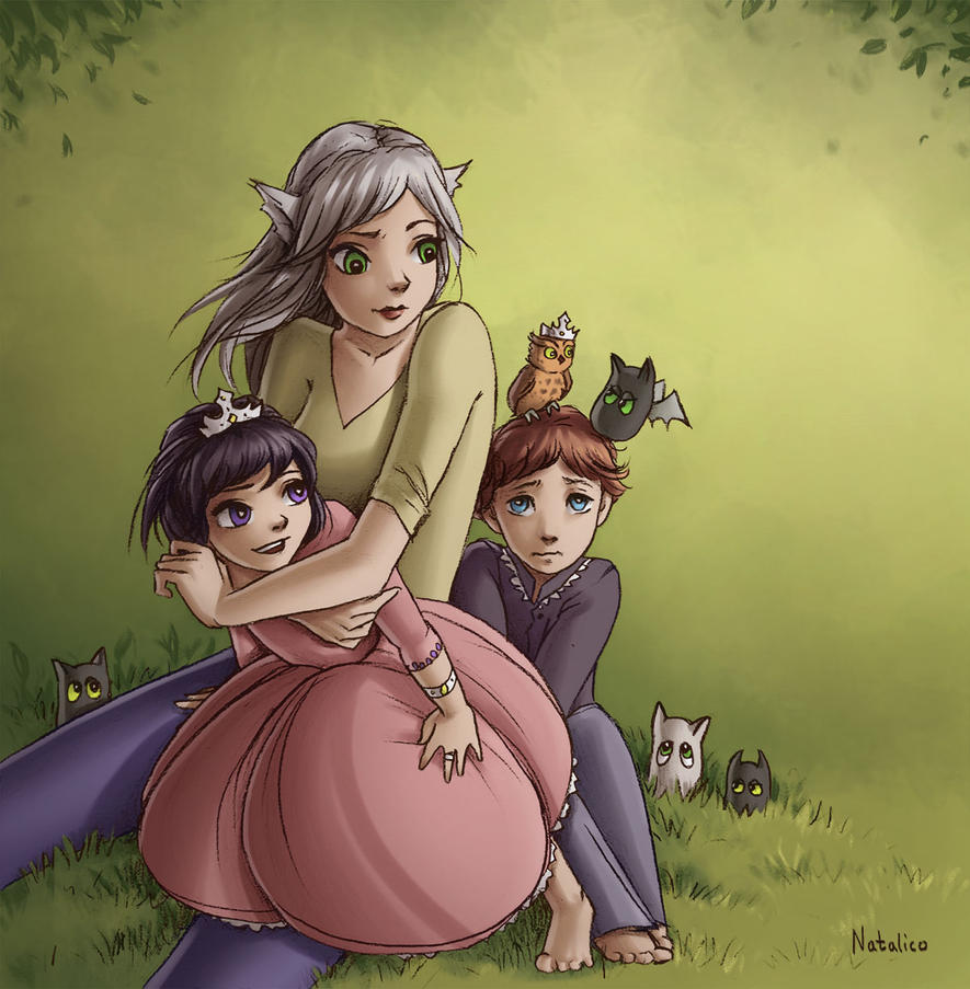 In the garden by natalico