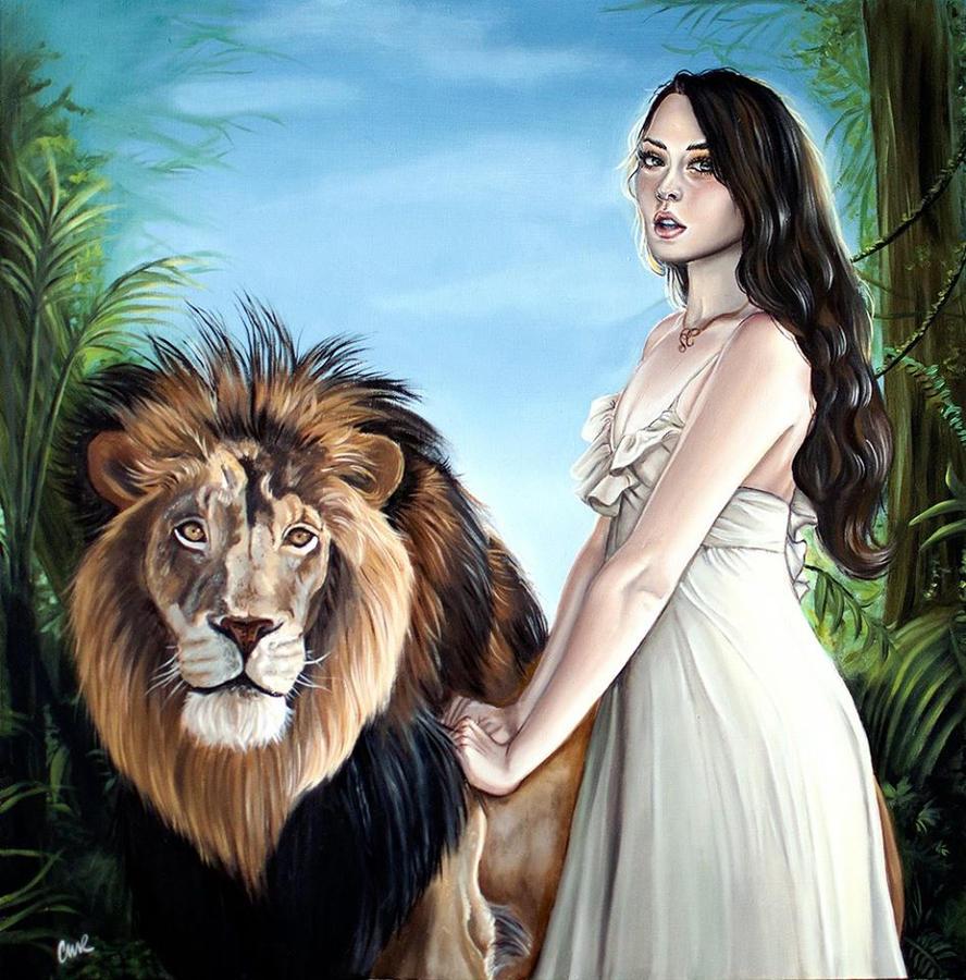 The Lion's Roar by plantiebee