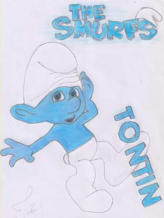 Los Pitufos ! tontin by JhonnyRproductions on DeviantArt