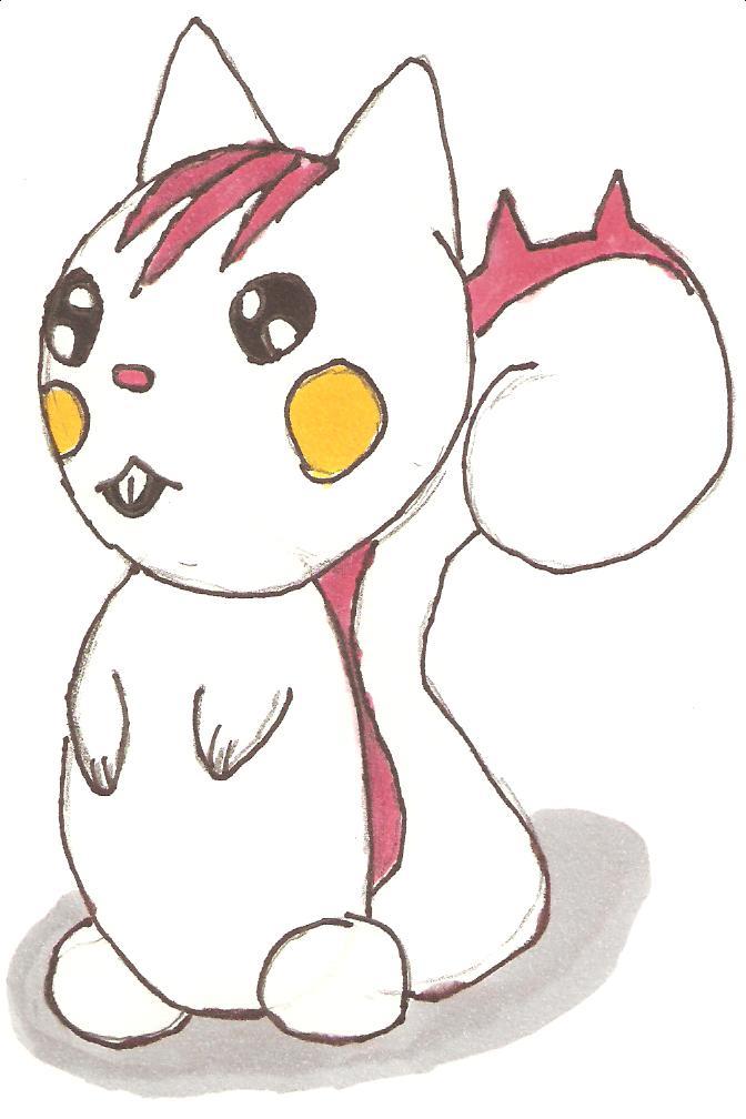 Shiny Pachirisu by fangirl324 on deviantART