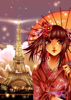 +JapaneseGirl-CityOfLights+