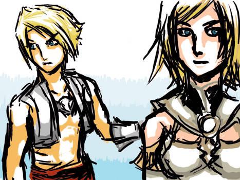 FFXII Vaan and ashley