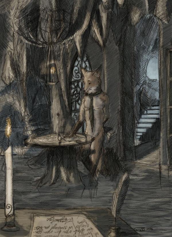 A Fox's Den by Zethelius