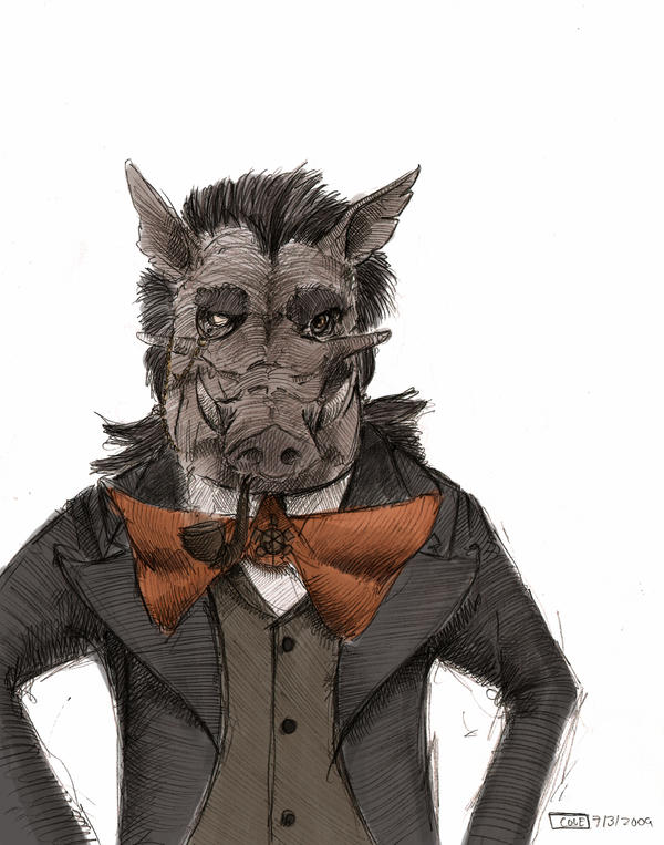 Warthog by Zethelius
