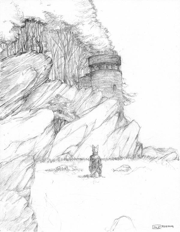 Turret on the Ridge by Zethelius