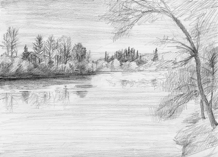 This is a picture of Adaptable Drawing A River