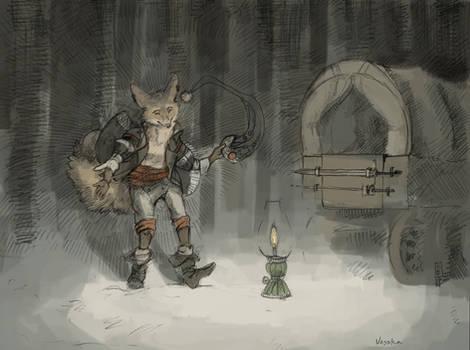 Traveling Merchant Fox