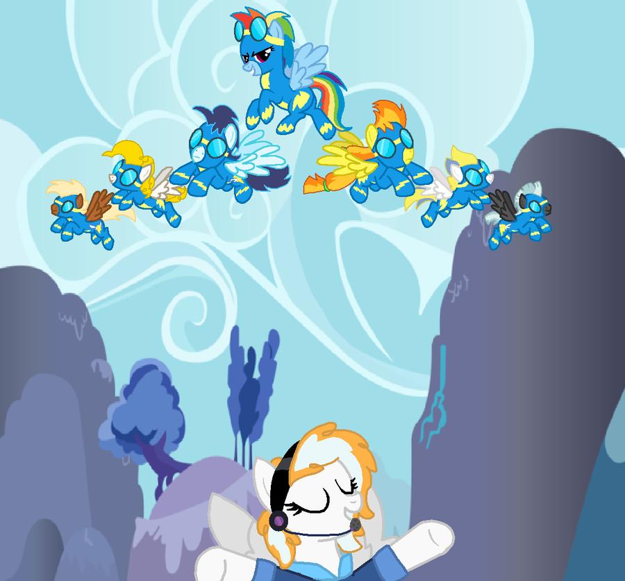 Introducing The Wonderbolts! By StarryOak On DeviantArt