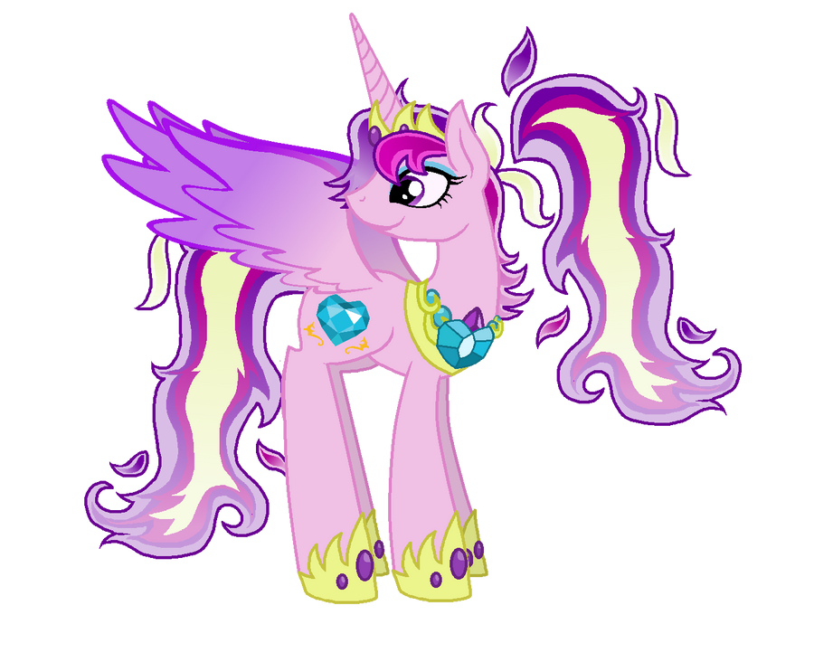 Older Princess Cadence by StarryOak