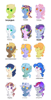 Derpy/Ditzy Batch #1 (Shipping Adopts)
