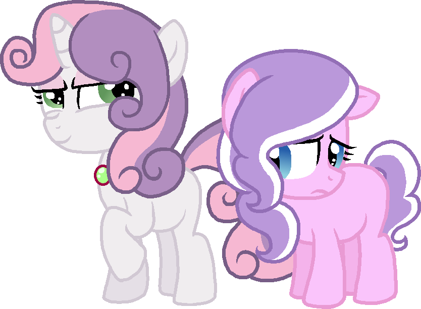 sweetie_belle_and_diamond_tiara_by_starr