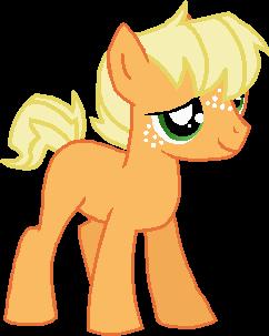 my little pony colt Young_applejack_by_starryoak-d6msrrc
