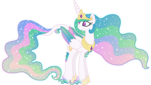 Princess Celestia Unique Style