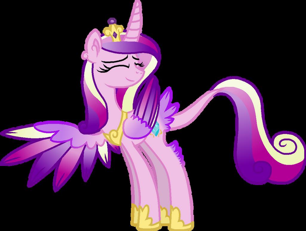 Princess Cadance Unique Style by StarryOak