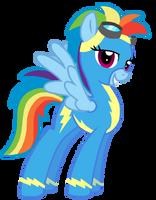 Older Rainbow Dash by StarryOak