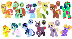 Guess The Character Adoptables (CLOSED) by StarryOak