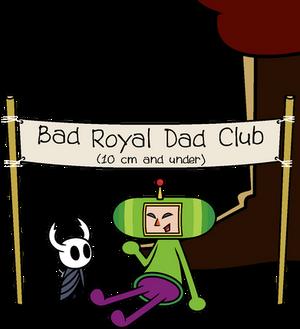 Tiny Bad Royal Dad Club