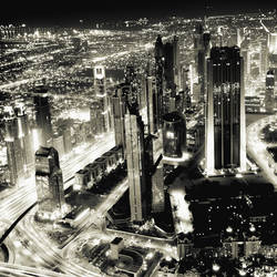 DUBAI of LIGHT by Ssquared-Photography