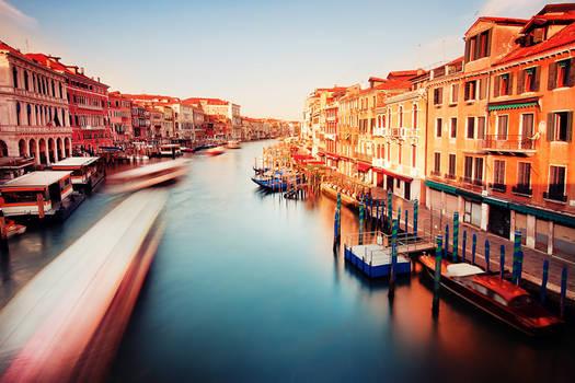 Waking up Venice