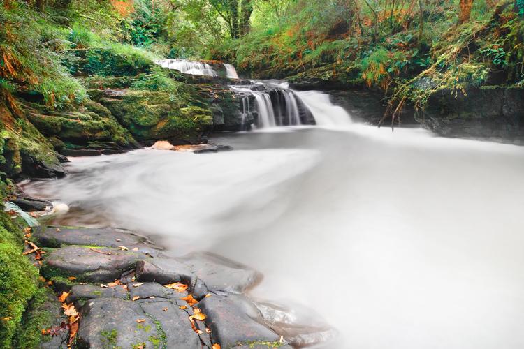 Irish Views, Waterfall by Ssquared-Photography