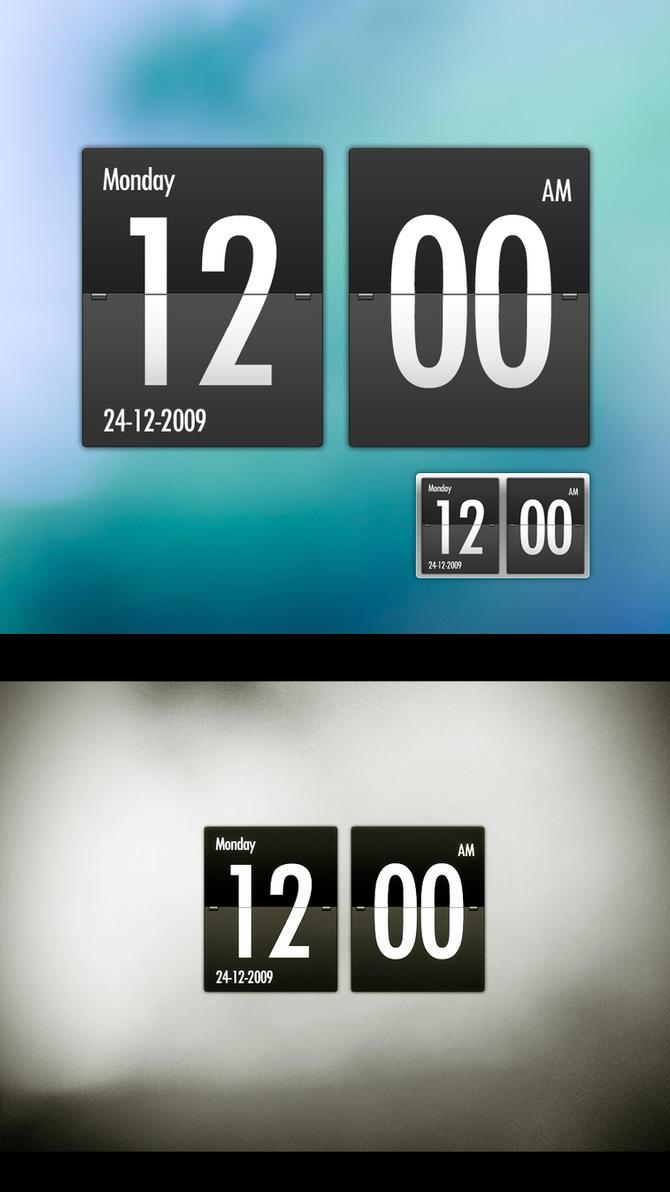 Flip Clock by hombre-cz