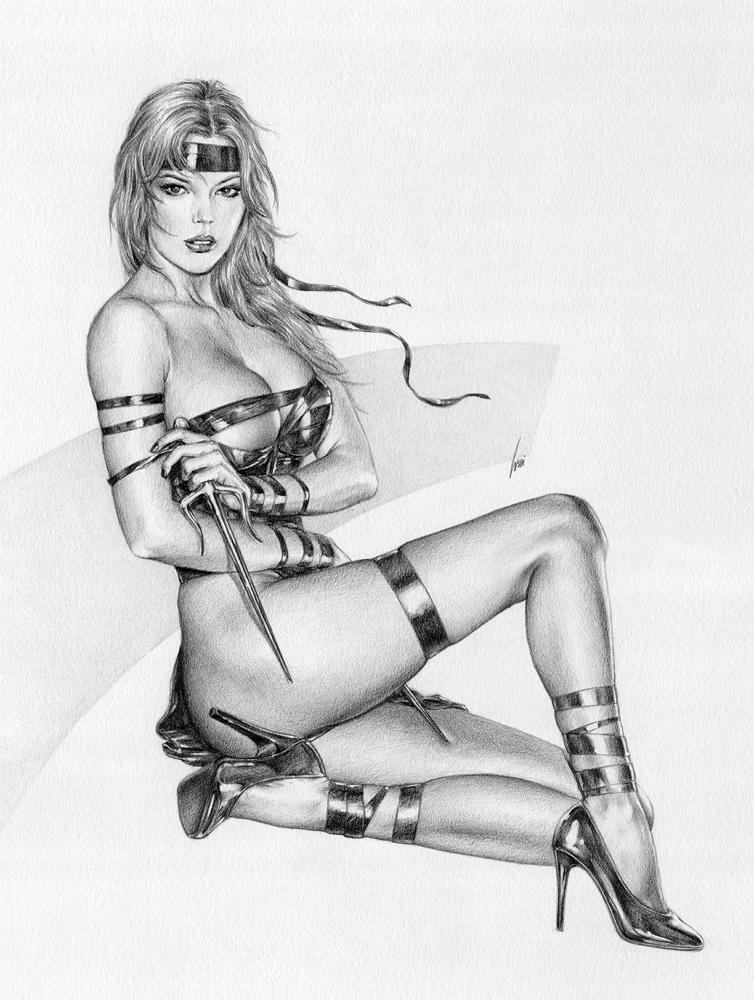 Fetish Elektra By Artofwei On Deviantart