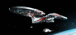 Enterprise NCC 1701 Predator Concept