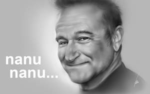Robin Williams Tribute by ArtOfWei