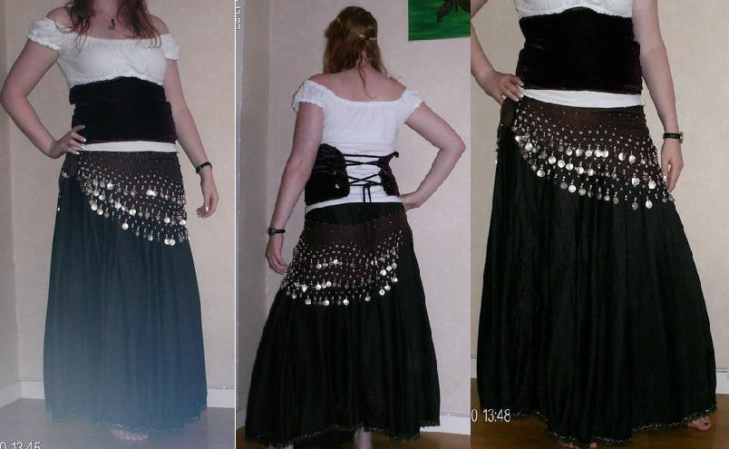 HomeMade Gypsy Dress by Yamiemma ... & HomeMade Gypsy Dress by Yamiemma on DeviantArt