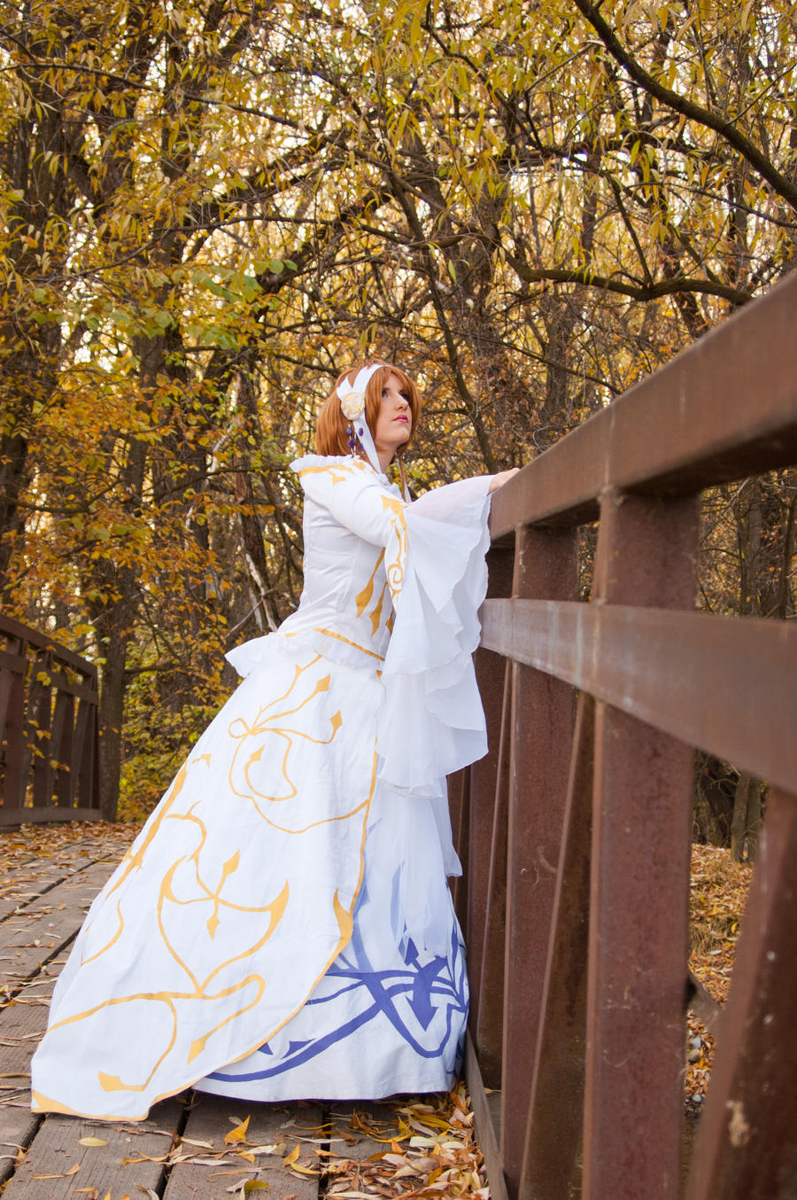 TRC: Sakura Hime Jade Spirit Dress by Silver-Fyre