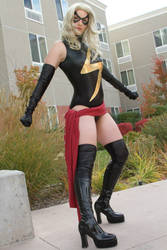 Ms. Marvel by Silver-Fyre