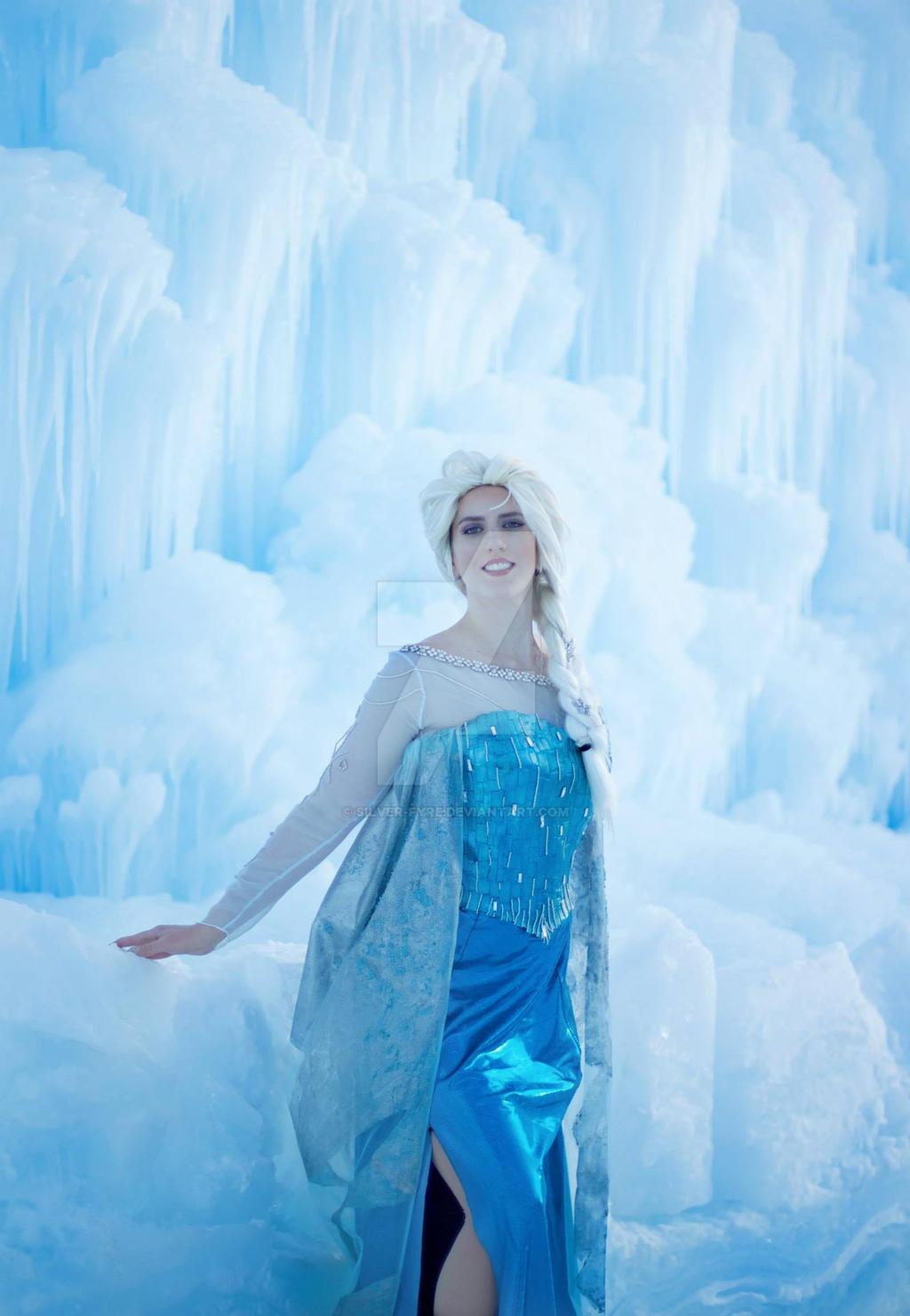 Elsa Frozen Ice by Silver-Fyre