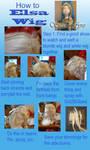 Elsa Frozen wig how to tutorial