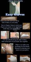 How to make easy gloves