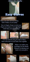 How to make easy gloves