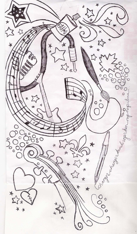 Music Tattoo Sketch Tattoo Sleeve Sketch 1 by