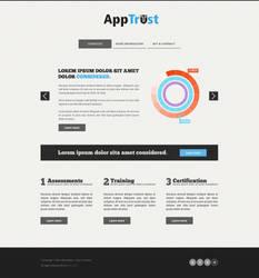 AppTrust web layout by Defaaa