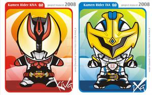 Kamen Rider KIVA - IXA