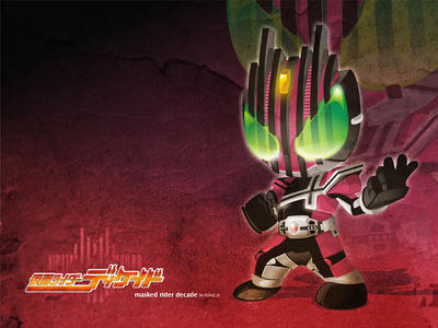 Kamen Rider Decade by dr4g0nw1ngs
