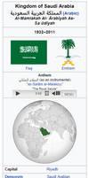 Infobox Former Saudi Arabia