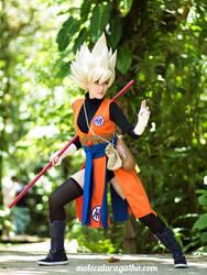 Goku genderbend by MolecularAgatha