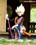 Female Goku+++ by MolecularAgatha