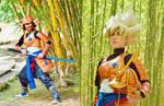 Samurai Goku Cosplay+++