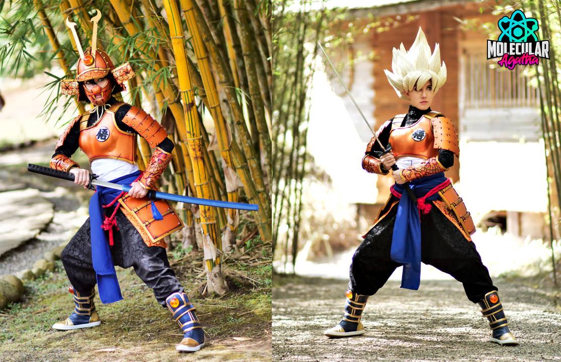 Samurai Goku Cosplay+++ by MolecularAgatha