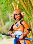 Super Saiyan Samurai Goku+++