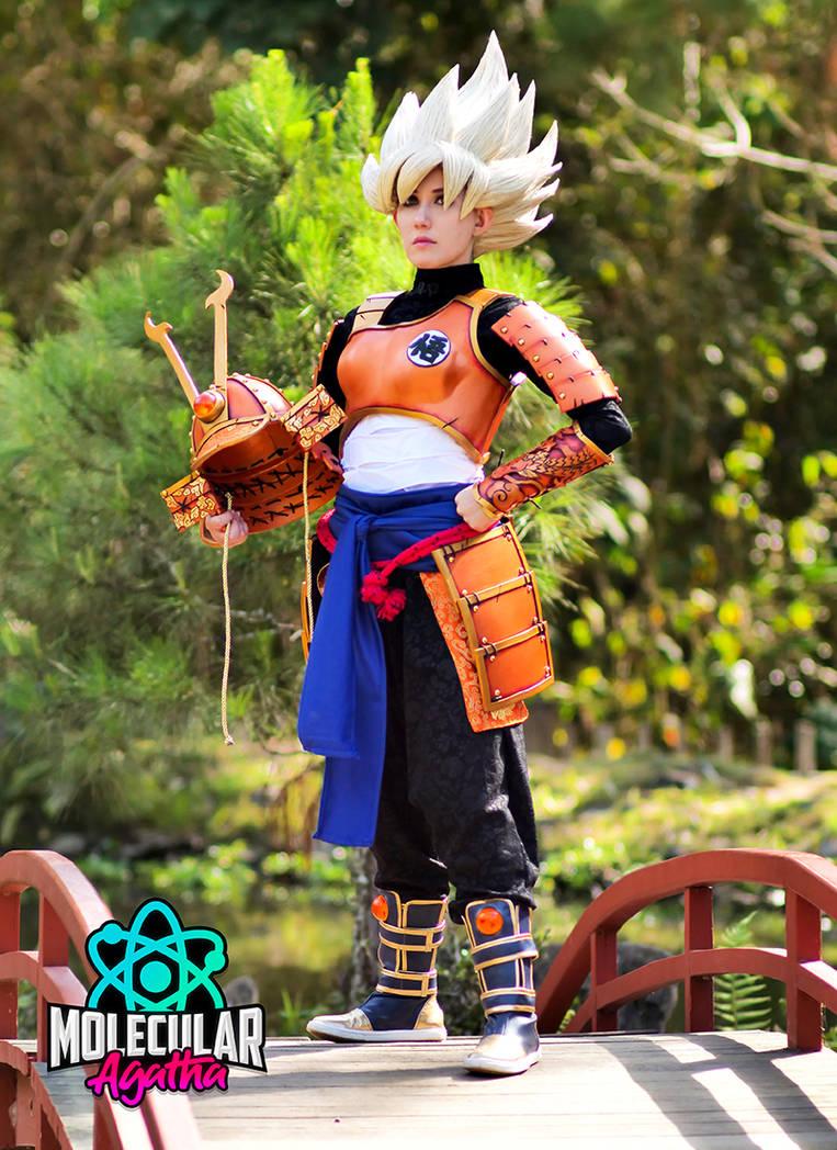 Super Saiyan Samurai Goku+++ by MolecularAgatha