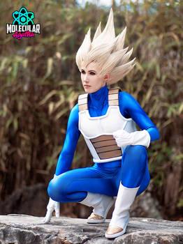 Vegeta cosplay (genderbend)