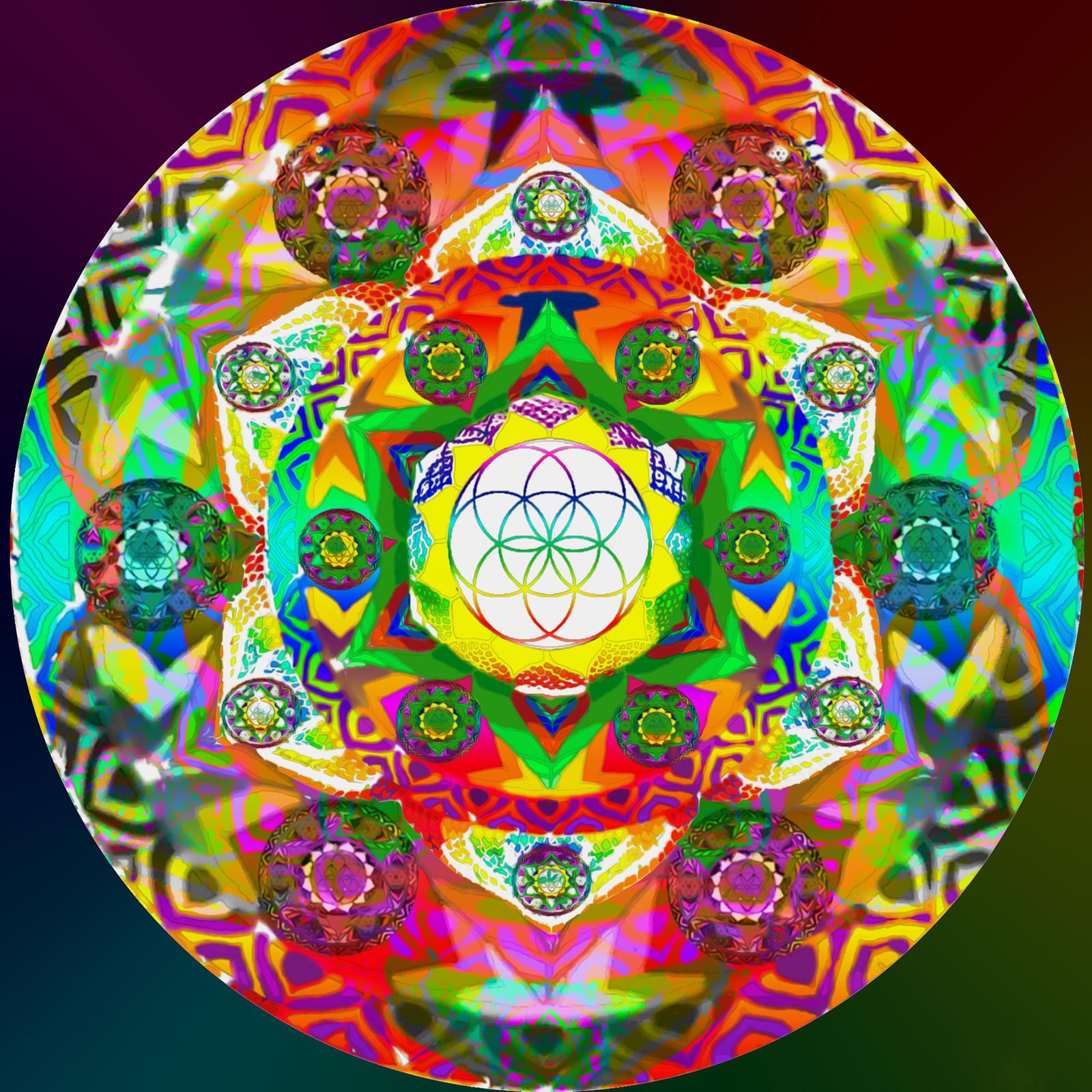 Flower of Life Mandala by massaad on DeviantArt