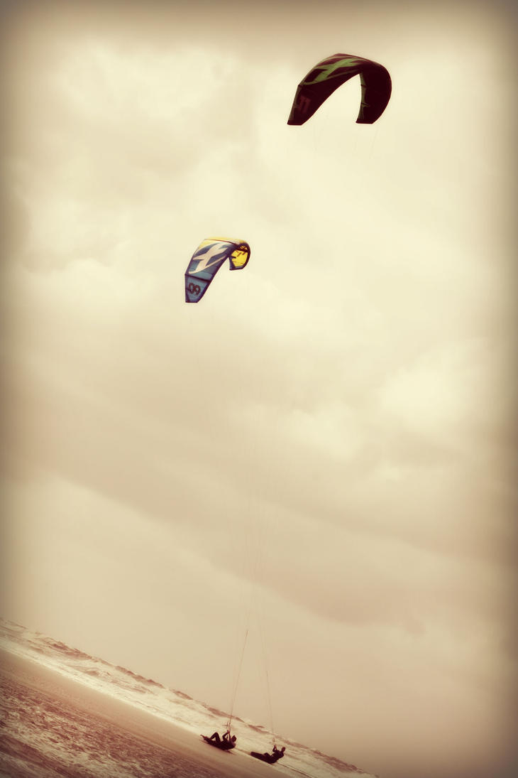 Beach Fun by VlinderButterfly